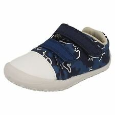 "Clarks ""Little Chap"" Pre-Walking Boys Canvas Shoe"