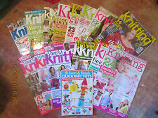 KNIT TODAY KNITTING SIMPLY KNITTING KNIT NOW - FILL THE GAPS IN YOUR COLLECTION