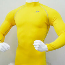 Skin Tight Gear Mens Compression 067 Sports Top Yellow