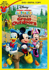 Mickey Mouse Clubhouse: Mickeys Great Outdoors (DVD, 2011, 2-Disc Set,...