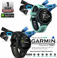 Garmin Forerunner 735XT GPS Running Swiming Multisport Tri Bundle Smart Watch
