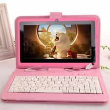 """7"""" inch Android 4.4 Quad Core Tablet PC HD 8GB Dual Camera With Keyboard Bundle"""