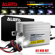 55W Heavy Duty H11/H9/H8 HID Conversion Canbus Kit Car Xenon Lighting All Color