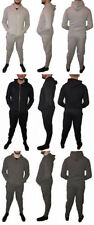 New Mens Super Slim Skinny Fit Designer Stretch Jog Suit Hoodie and Joggers