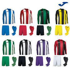 JOMA PISA STRIPE FOOTBALL TEAM KIT STRIP SHIRTS, SHORTS,SOCKS MENS ADULTS