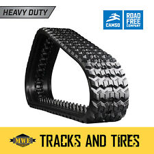 """Mustang MTL16 13"""" Camso Heavy Duty Sawtooth Pattern  CTL Rubber Track"""
