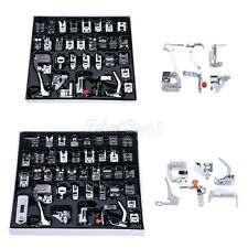 32/42x Domestic Sewing Machine Presser Foot Walking Feet F Brother Janome Singer