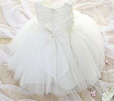 Gwen Formal Flower Girl Dress Christening Wedding Party Pageant Gown Bridesmaid