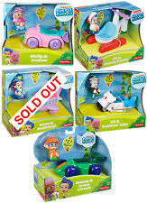 Fisher-Price Bubble Guppies Vehicle and Figure Playset RARE UK Stock