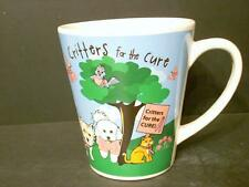 BREAST CANCER AWARENESS CRITTERS FOR THE CURE COFFEE CUP MUG (B7)