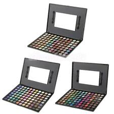 Pro 88 Color Matte Shimmer Eyeshadow Palette Makeup Cosmetic kit w/ Mirror Brush