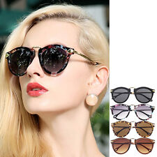 Women Unisex Men Sunglasses Arrow Style Eyewear Round Sunglasses Metal Frame GF