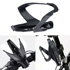 Cycling Bicycle Outdoor Carbon Fiber Water Bottle Drinks Holder Cages Rack N GF