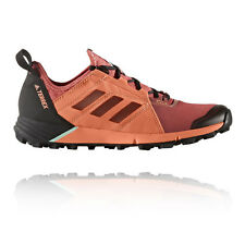 Adidas Terrex Agravic Speed Womens Orange Trail Running Sports Shoes Trainers