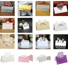 50pcs Wedding Table Place Cards Laser Cut Name Place Cards Wedding Party Decor