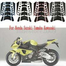 Universal Motorcycle Gas Fuel Oil Tank Pad Decal Sticker For Honda Suzuki Yamaha