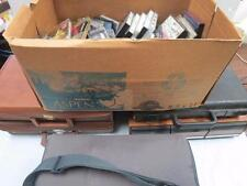 HUGE LOT OF CASSETTE TAPES AND STORAGE CONTAINERS/CASES #1478