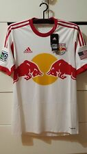 New York Red Bull MLS 2013-14 Home Authentic Match Player Football Soccer Shirt