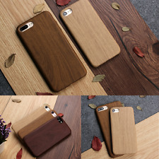 Wooden Vintage Designer TPU Ultra Thin Back Case Cover for iPhone 6s 6 7 Plus