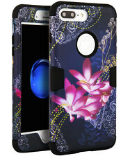 Flower Shockproof Hybrid Rugged Rubber Silicone Case Cover For iPhone 6/6S Plus