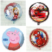 """18"""" Foil Number Balloons Helium Baloons Large allHappy Birthday Party character"""