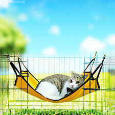 Hamster Ferret Rabbit Squirrel Cat Puppy Pet Hammock Hanging Bed House Cage Mat