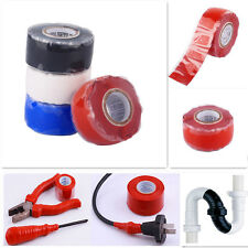 10ft/3m Performance Repair Bonding Rescue Self Fusing Wire Hose Silicone Tape WD