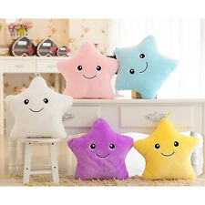 7 Color Romantic Changing LED Light Cute Star Glowing Sofa Cushion Soft Pillow