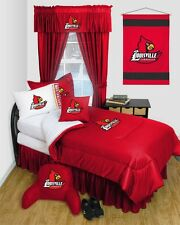 Louisville Cardinals Dorm Bedding Comforter Set