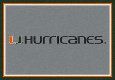 University of Miami Hurricanes Spirit Mascot Rug