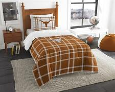 University of Texas Longhorns Comforter and Sham Bed Set