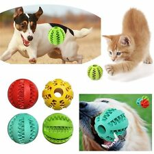 Bite Resistant Playing Pet Toy Dog Training Chew Ball Teeth Cleaning