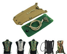 3L Tactical Hydration Water Reservoir Backpack Pouch Bag with Bladder 7 Colors