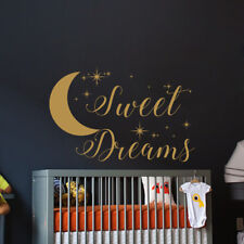Sweet Dreams Wall Decal Baby Nursery Wall Decal Quote Sweet Dreams Stickers S65