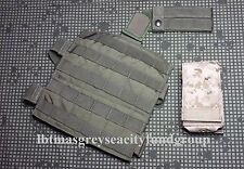 LBT MOLLE Panel London Bridge Trading Company Extended OD & Eagle AOR1 eM4 Pouch