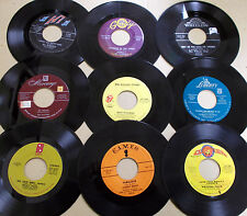 """75 Various 7"""" 45s All Different Artists & Genres (Bulk Lot #2851)"""