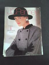 Vintage JC Penney Fall & Winter 1990 Department Store Catalog Good Condition