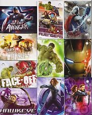 MARVEL AVENGERS LOT OF 10 MAGNETS CAPTAIN AMERICA, THOR, HULK, IRON MAN, HAWKEYE