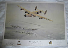 B24 Liberator signed Ltd Ed - 50th Anniv. USAAF in East Anglia by Eric Day 1992