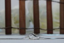 1.5mm Width Various Lengths 925 Italian Silver Snake Chain Pear Lobster Clasp