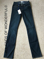 Paige Jeans Skyline Straight In Stream ( Indigo) RRP £165 Brand New With Tags