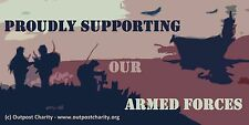 Outpost Charity Stickers (Armed Forces Charity) *All Proceeds to Charity**