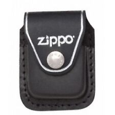 Zippo Black Lighter Pouch With Clip Leather - Brand New!
