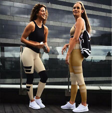 Women Sports Gym Yoga Running Fitness Leggings Splice Pants Athletic Trousers