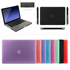 "For Apple MacBook Pro 13"" 15'' Retina Hard Rubberized Hard Case Cover Protector"
