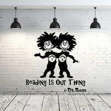 Dr Seuss Wall Decal Quote Sayings Vinyl Sticker Decals Nursery Baby Decor ZX240