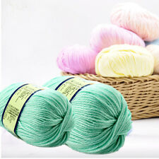 50g Worsted Sweater Yarn Soft Wool Cashmere Knitted Baby Handcraft Yarn