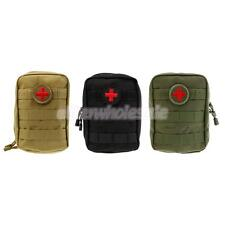 First Aid Tactical EMT Pouch Water Resistant Military Molle Utility Pouch Case