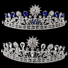 Wedding Bridal Bridesmaid Tiara Crystal Sunflower Crown Headband Prom Party Gift