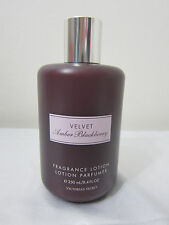 NEW RARE Victoria Secret VELVET AMBER BLACKBERRY FRAGRANCE LOTION 8.4 oz 250 ml